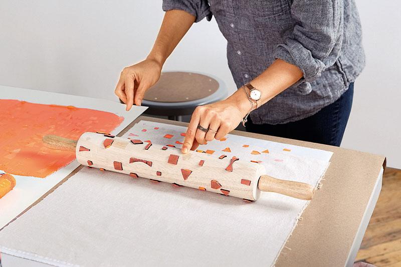 Создаём ткань своими руками 900