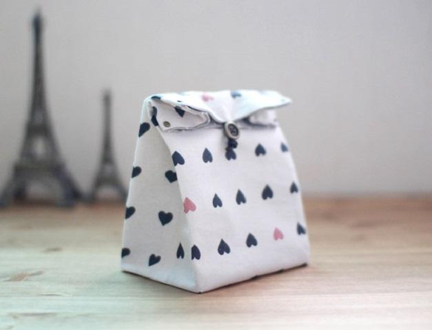 9f2c1b42a5e9 Подарочный пакет из ткани своими руками — Мастер-классы на BurdaStyle.ru