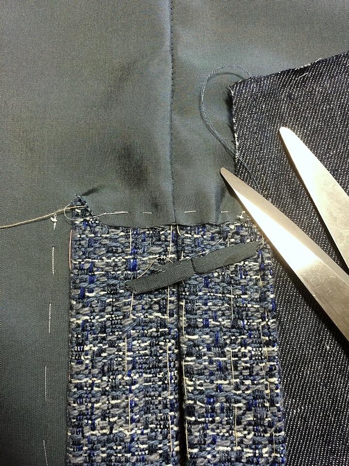 Шлица на юбке мастер класс своими руками #5
