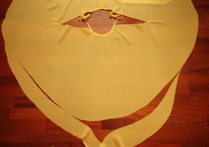 Блузка-солнце своими руками