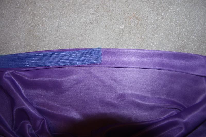Низ юбки с регилином