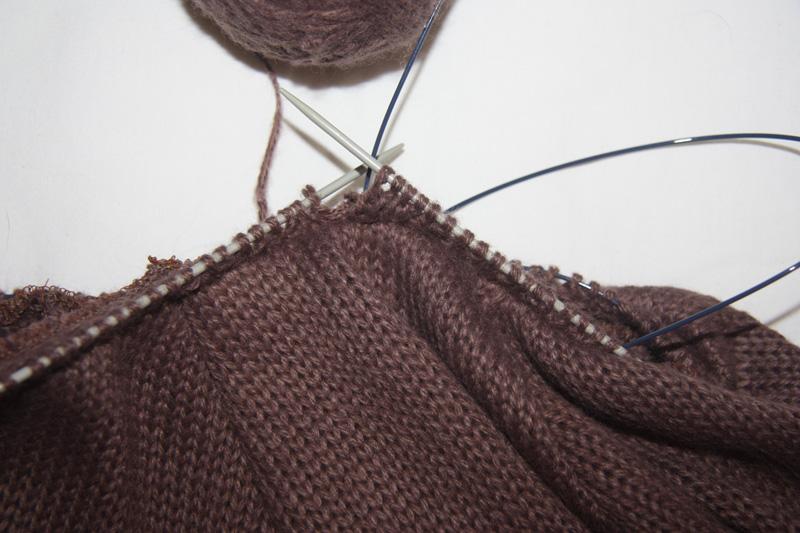 Как сшить из вязаного полотна 137