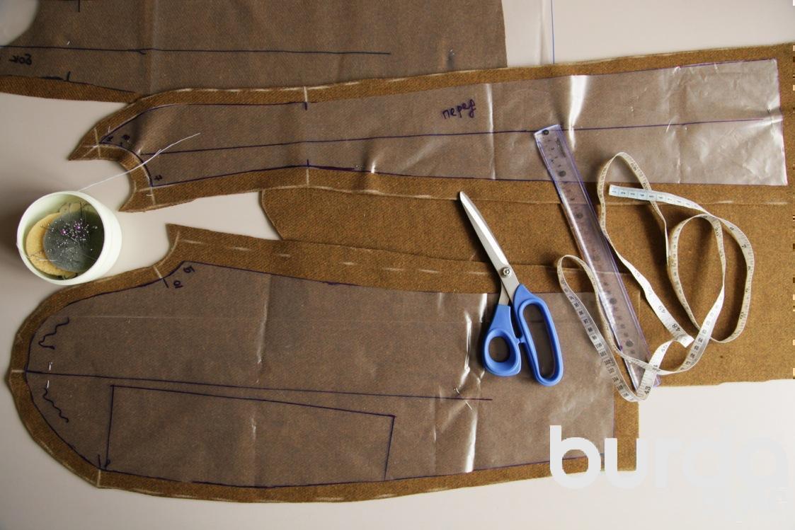вязаные шорты спицами схема
