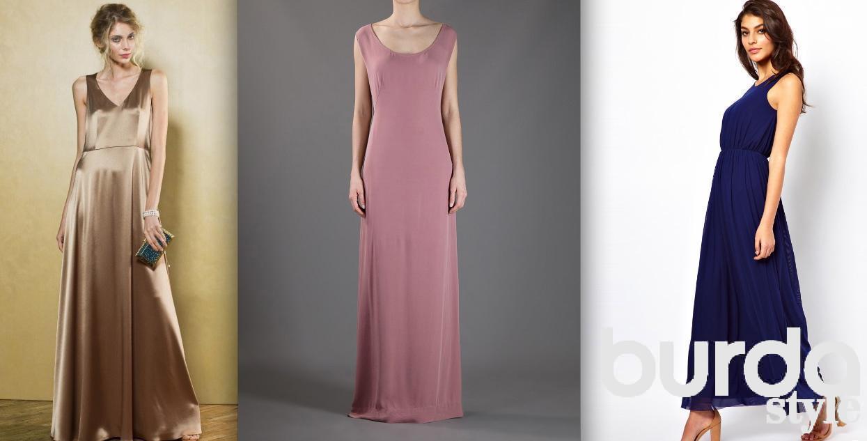 Из чего сшить расклешенное платье