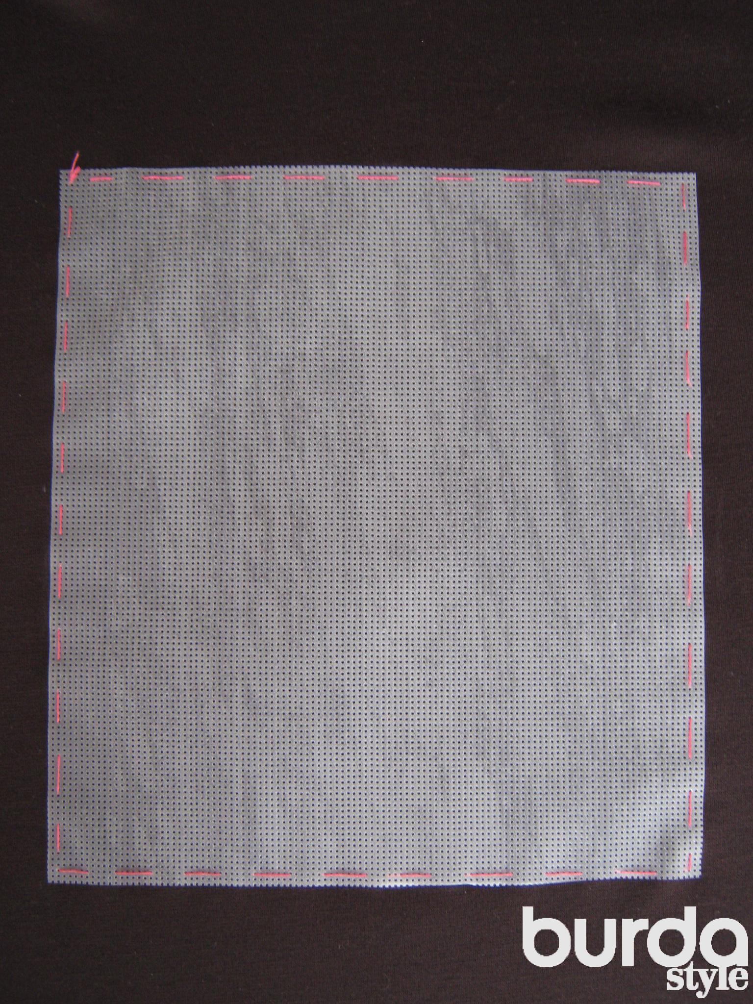 Водорастворимая канва для вышивки бисером 24