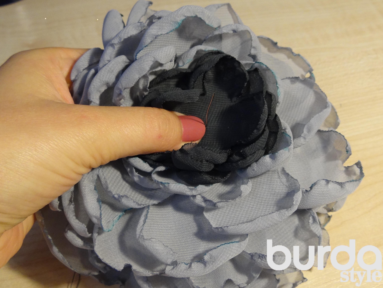 Как сделать шапку цветок фото 70
