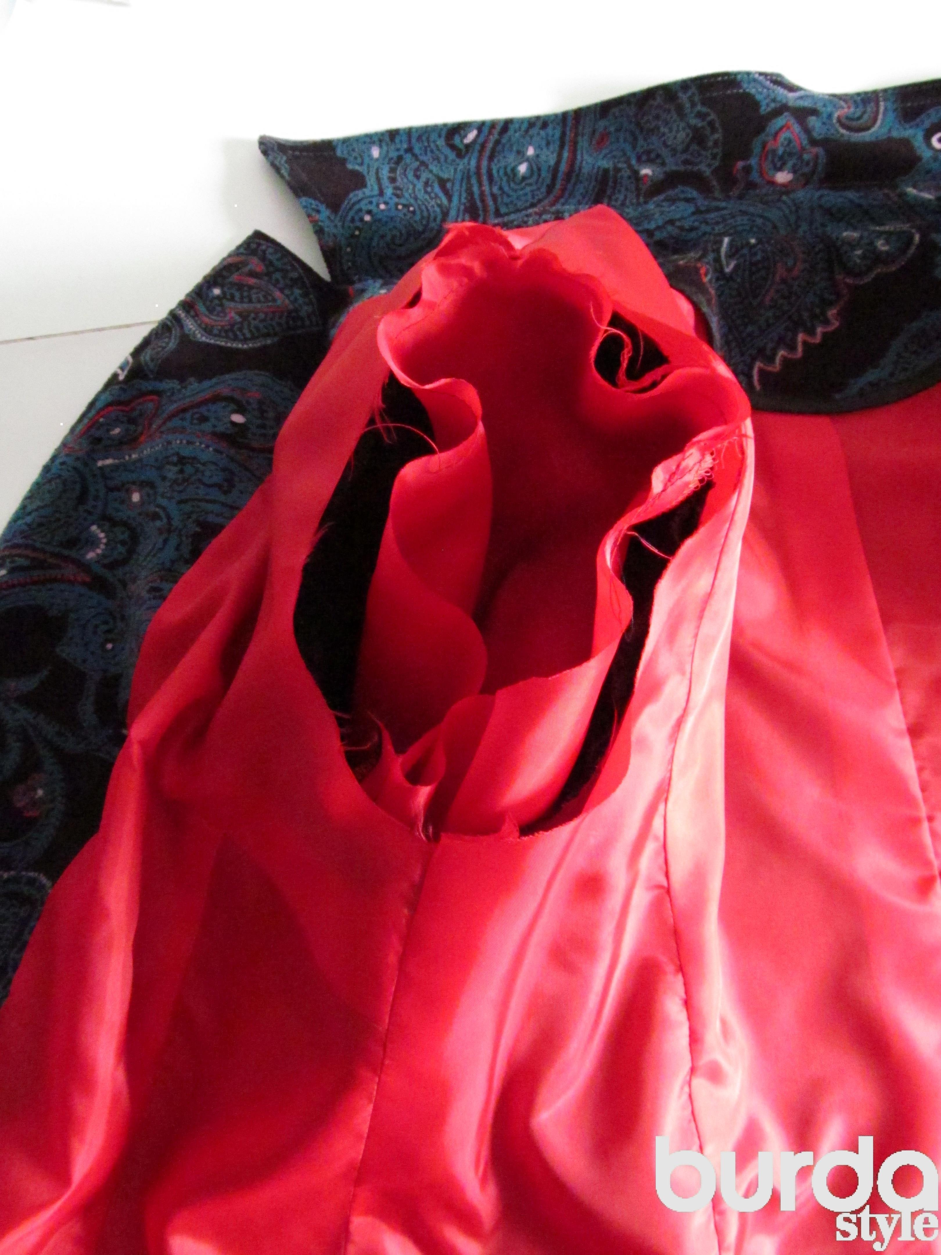 Как сшить платье без рукавов с подкладом